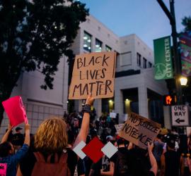 In solidarity agaisnt racism