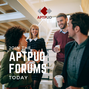 Join the A.P.T.P.U.O. Forums today
